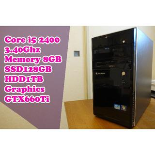 ★高性能 ゲーミングPC★ 新品SSD Core i5 PUBGにも(デスクトップ型PC)