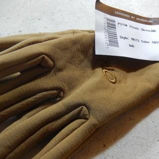 新品!タグつき!サイズXL POLATEC フリースグローブ コヨーテ米軍放出品(手袋)