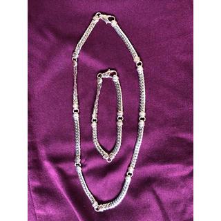 ウノアエレ(UNOAERRE)のウノアエレ 18金 ネックレス ブレス セット 最終価格(ネックレス)