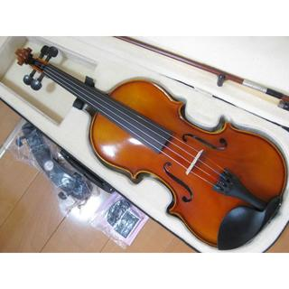 【一枚板】工房製 ハンドメイド バイオリン 4/4 新品付属品セット