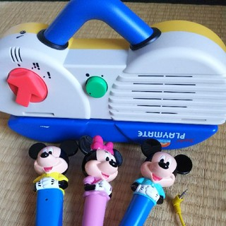 ディズニー(Disney)のディズニーの英語システムマイクセット(知育玩具)