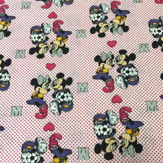 ディズニー(Disney)のミキミニ♡ファブリック(生地/糸)