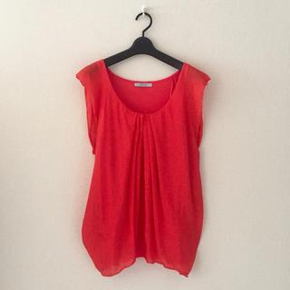 オペーク(OPAQUE)のオペーク♡きれい色プルオーバーシャツ(シャツ/ブラウス(半袖/袖なし))