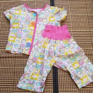 シマムラ(しまむら)の中古 セール!サンリオ 女の子 半袖パジャマ 100サイズ (パジャマ)