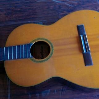 値下げジャパンビンテージ全音ガットギター昭和41年製(クラシックギター)