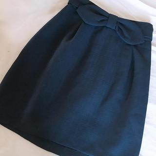 イング(INGNI)の新品 ネイビースカート(ミニスカート)