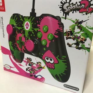 Nintendo Switch - 海外限定 スプラトゥーン2 コントローラー switch  スイッチ