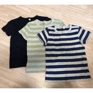 MUJI (無印良品) - 無印Tシャツ3枚セット 90