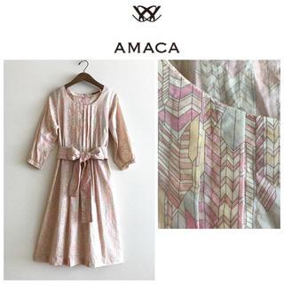 アマカ(AMACA)のAMACA☆アマカ★ワンピース(ロングワンピース/マキシワンピース)