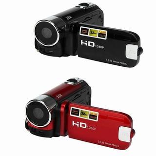 新品 未使用 ビデオカメラ HD 1080P 16X デジタル ズーム(ビデオカメラ)