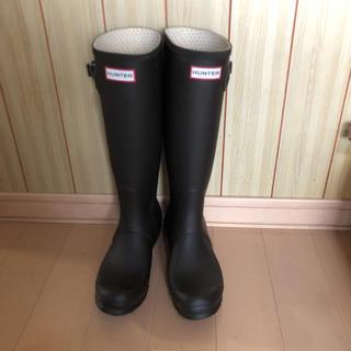 ハンター(HUNTER)の美品ハンター長靴(レインブーツ/長靴)