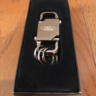 フォード ford キーホルダー ford black dual clip(その他)