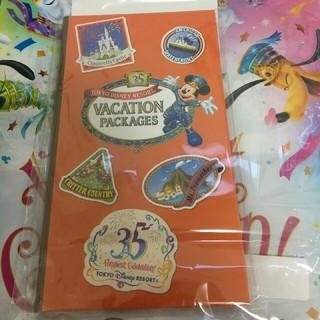 ディズニー(Disney)のバケーションパッケージ35周年記念グッズ(ノベルティグッズ)