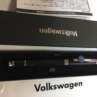 フォルクスワーゲン(Volkswagen)のフォルクスワーゲン  カーボン ボールペン 非売品 高級ボールペン 新品 未使用(その他)