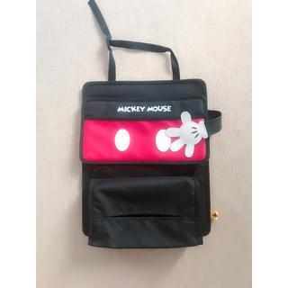 ディズニー(Disney)のカーポケット ミッキー 車収納♡超美品(車内アクセサリ)