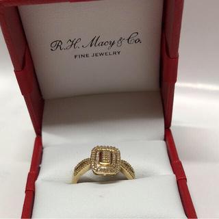 10K ゴールド ダイヤモンド ファッション リング Sale❣️(リング(指輪))