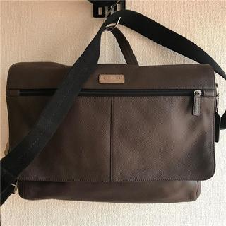 コーチ(COACH)の美品 COACH(コーチ) 約8万円 2wayフルグレインレザービジネスバッグ(ビジネスバッグ)