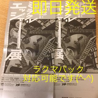 ミラクルエッシャー展 チケット 【2枚】(美術館/博物館)