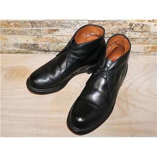 アレンエドモンズ(Allen Edmonds)の美品 アレンエドモンズ Allen Edmonds チャッカブーツ 黒 29cm(ブーツ)