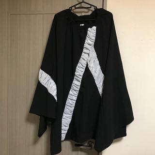 エイチナオト(h.naoto)の新品 gouk 黒×白 ロングスカート(ロングスカート)