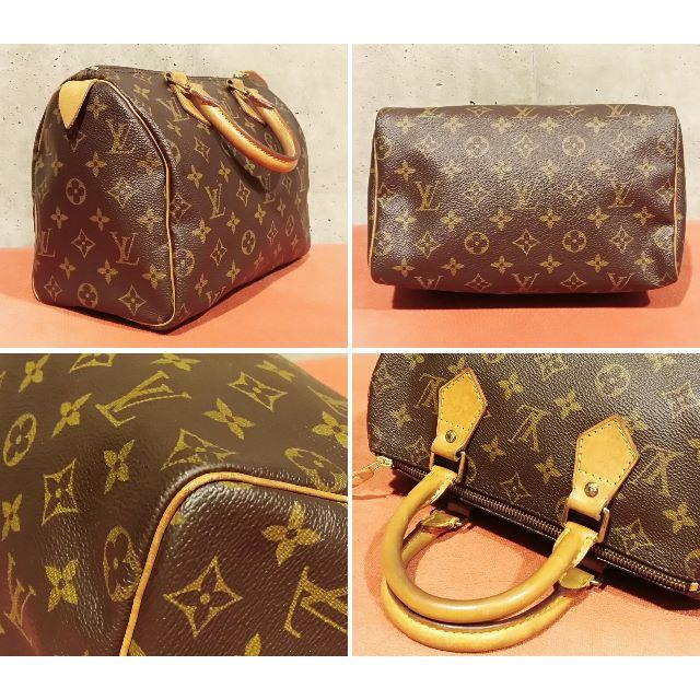 2fe7720a39ea LOUIS VUITTON - 【良品級】ルイヴィトン(モノグラム)スピーディ25 ...