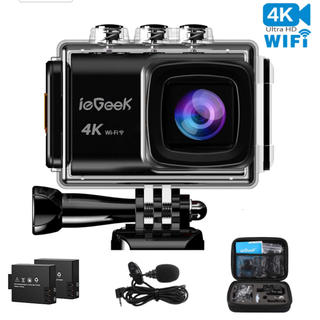 アクションカメラ 4K(ビデオカメラ)
