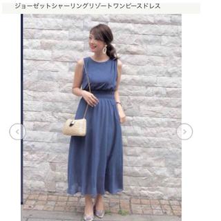 エメ(AIMER)の新品エメ AIMERシャーリングリゾートワンピースドレス(ロングドレス)