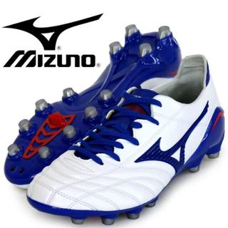 MIZUNO - ミズノ サッカー スパイク モレリアネオ ホワイト×ブルー