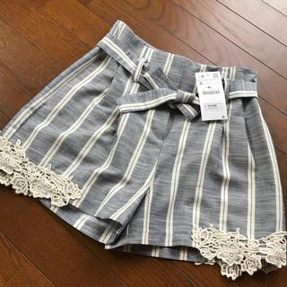 ザラ(ZARA)の2018/6購入 ZARA 新品タグ付き パンツ ザラ(ショートパンツ)