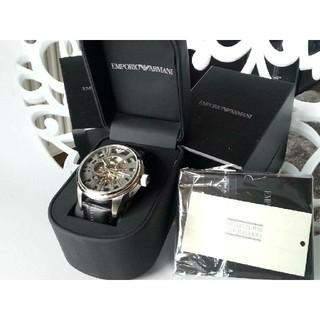 エンポリオアルマーニ(Emporio Armani)のエンポリオアルマーニ 腕時計 メンズ スケルトン 高級(腕時計(アナログ))