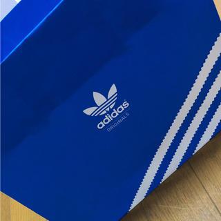 アディダス(adidas)のアディダスオリジナル ショップ袋 青(ショップ袋)