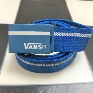 ヴァンズ(VANS)のVANS ベルト 新品 ブルー(ベルト)