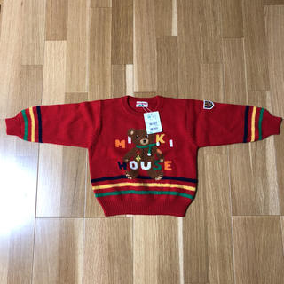 ミキハウス(mikihouse)のセーター100サイズ 新品です(ニット/セーター)