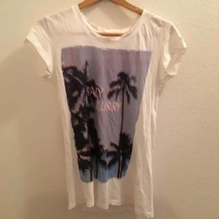 ジーユー(GU)のバックプリント Tシャツ(Tシャツ(半袖/袖なし))