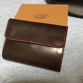 バーンズアウトフィッターズ(Barns OUTFITTERS)のバーンズ 財布 ウォレット コードバン (折り財布)