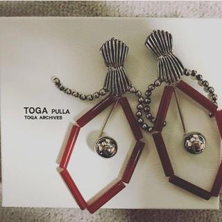 トーガ(TOGA)の【完売商品】togapulla イヤリング(イヤリング)
