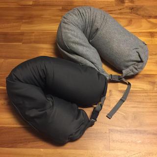 ムジルシリョウヒン(MUJI (無印良品))の無印 ネッククッション2つセット(旅行用品)