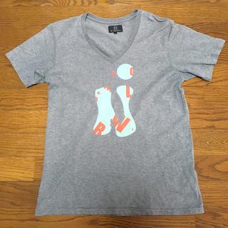 アールニューボールド(R.NEWBOLD)のR.Newbold 半袖TシャツL グレー Paul smith(Tシャツ/カットソー(半袖/袖なし))