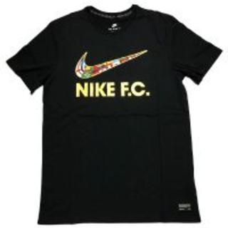 ナイキ(NIKE)の【新品】NIKE F.C スウォッシュフラグ ブラックS(Tシャツ/カットソー(半袖/袖なし))