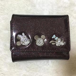 ディズニー(Disney)のミッキー ミニウォレット(財布)