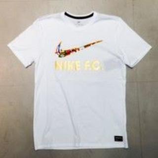 ナイキ(NIKE)の【新品】NIKE F.C ホワイトS(Tシャツ/カットソー(半袖/袖なし))