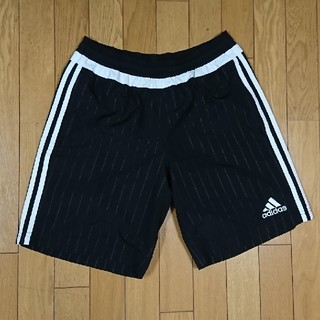 adidas - adidas TIRO15 ウーブンショーツ ブラック×ホワイト サイズ:L