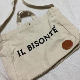 イルビゾンテ(IL BISONTE)のイルビゾンテのノベルティショルダーバッグ(ノベルティグッズ)
