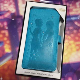 ディズニー(Disney)のアナと雪の女王 iPhone Android 多機種対応 マルチ スマホケース(モバイルケース/カバー)