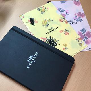 COACH - ノート クリアファイル ★COACH コーチ