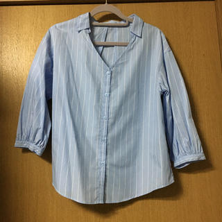GU - GU ストライプシャツ
