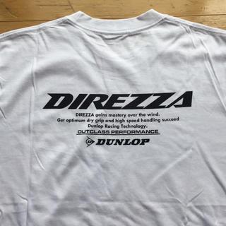 ダンロップ DIREZZA ディレッツァ Tシャツ 白 新品未使用(その他)