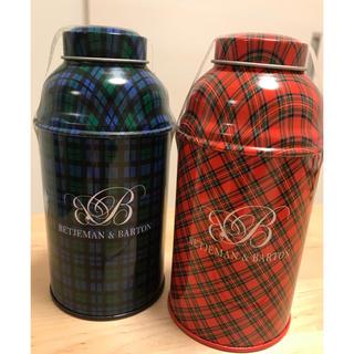 新品未開封 ベッジュマン&バートン 紅茶 限定品 2缶セット トートバッグ付き