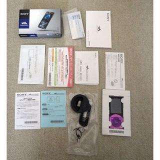 ウォークマン(WALKMAN)のソニーSONY ウォークマン Sシリーズ NW-S746 32GB バイオレット(ポータブルプレーヤー)