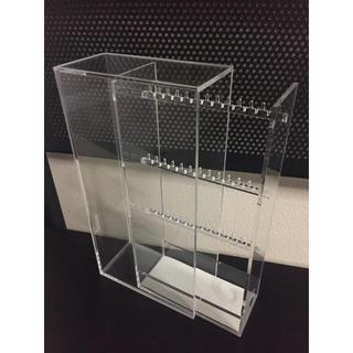 ムジルシリョウヒン(MUJI (無印良品))の無印良品 アクリルケース アクセサリ収納 MUJI(ケース/ボックス)